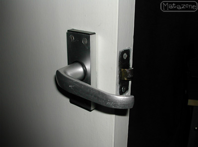 DIY door handle mistake